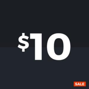 $10 Sale